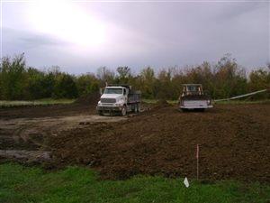 Building Pad in Progress 1
